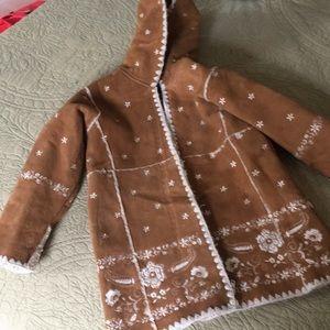 Gap suede-like jacket. EUC!